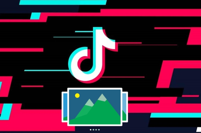 make a slideshow on TikTok
